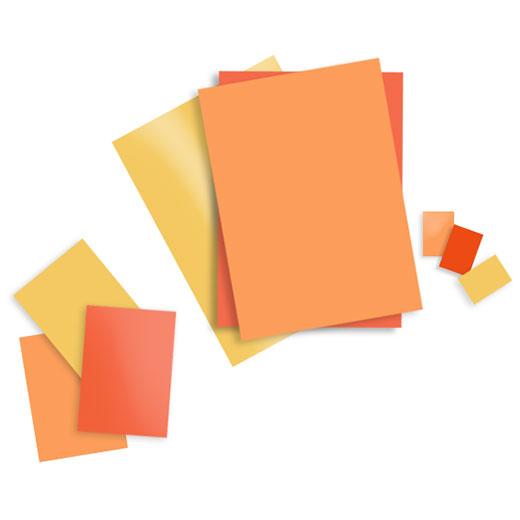 NCS半光泽色彩单页(A6)